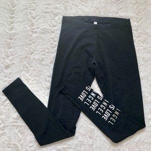 Grey Victorias Secret Leggings